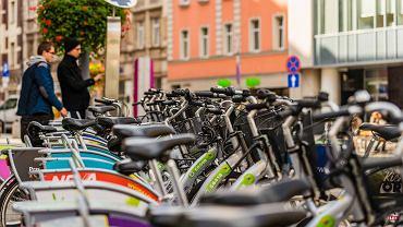 Koronawirus uniemożliwi korzystanie z rowerów miejskich
