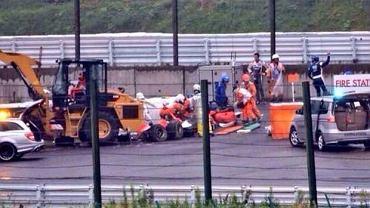 Jules Bianchi uległ podczas GP Japonii groźnemu wypadkowi