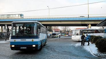 Dworzec PKS w Rzeszowie.