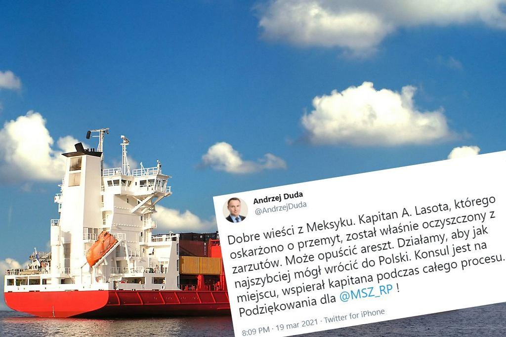 Meksyk. Polski kapitan został oczyszczony z zarzutów
