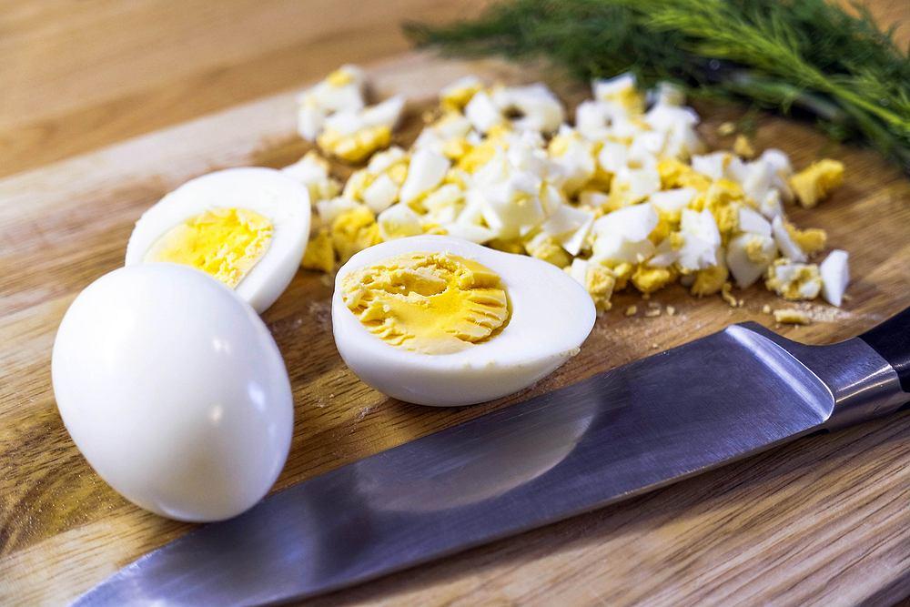 Sałatki z jajkami