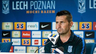 Nenad Bjelica, nowy trener Lecha Poznań