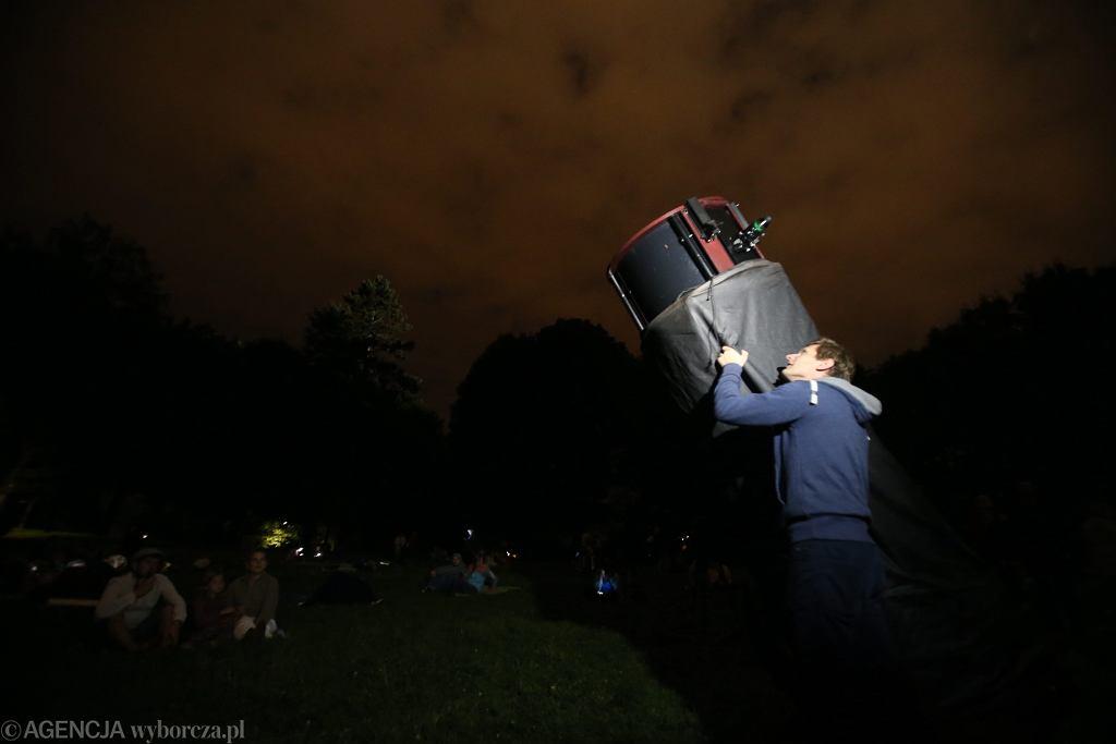 Noc spadających gwiazd w Szczecinie