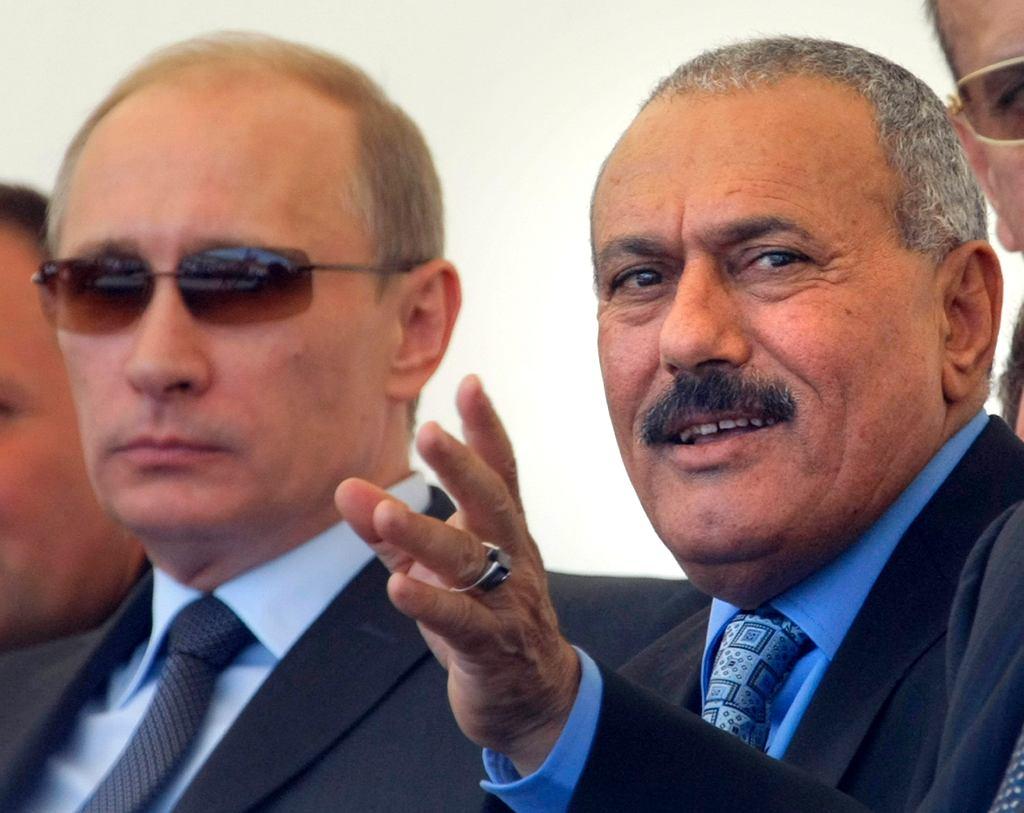 Vladimir Putin, Abdullah Saleh