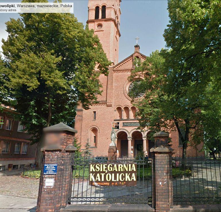 Kościół parafialny Św. Augustyna na ul. Nowolipki.