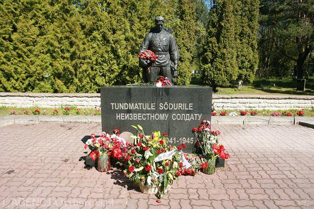 Tallin, pomnik żołnierzy radzieckich