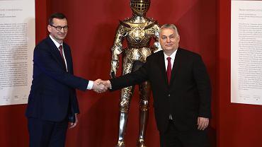 Mateusz Morawiecki i Victor Orban