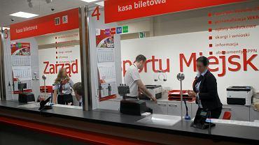 Punkt Obsługi Pasażerów na stacji metra Centrum