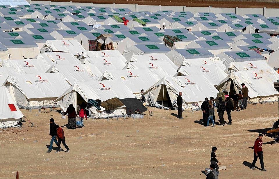 Obóz przejściowy dla uchodźców