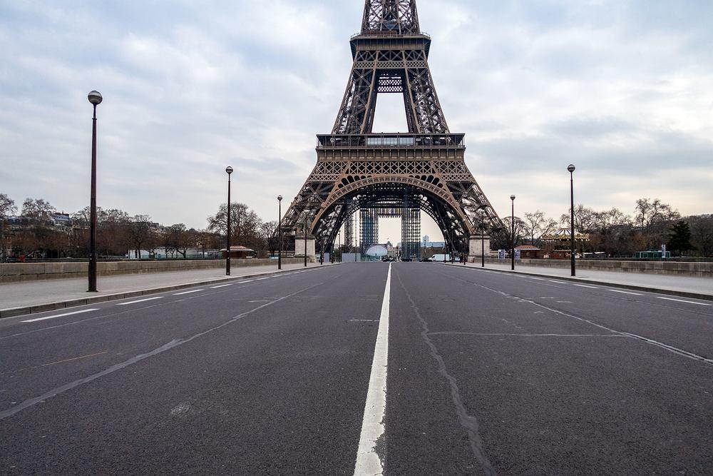 Paryż w czasie pandemii