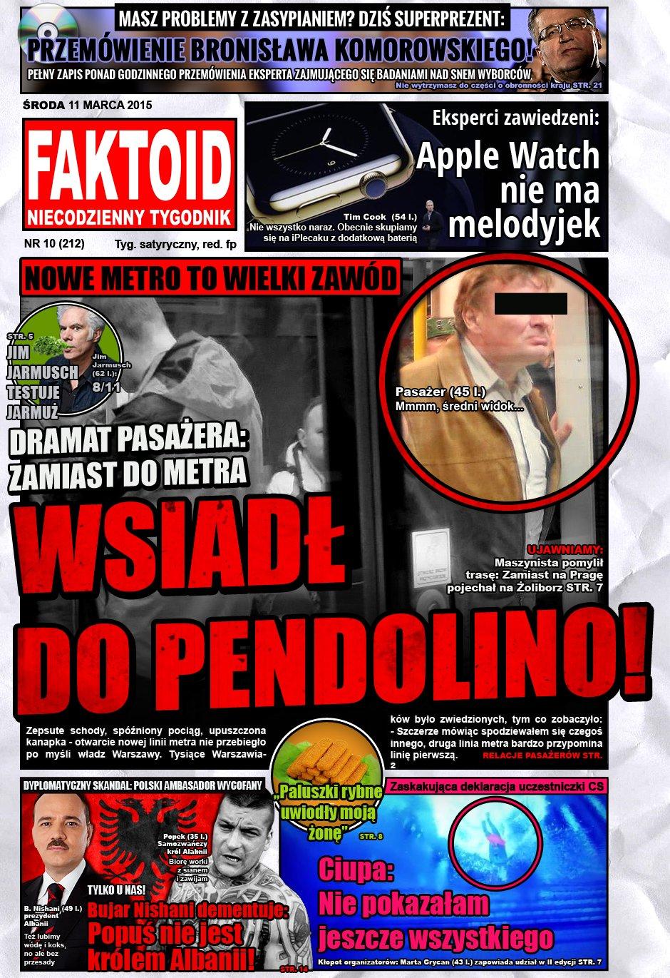 Faktoid, 11 marca 2015, nr 10 (212)  - Faktoid