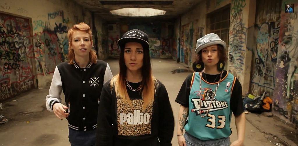 Ladies rap: Ryfa Ri, Dellis, Ziuta