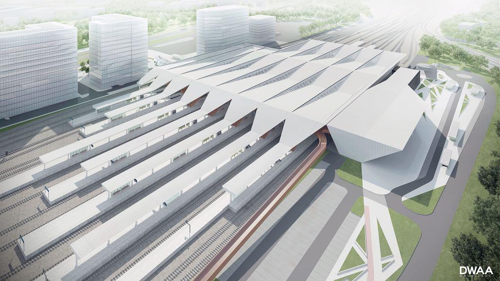 Projekt nowego dworca Warszawa Zachodnia