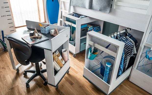 Funkcjonalne biurko dla dziecka
