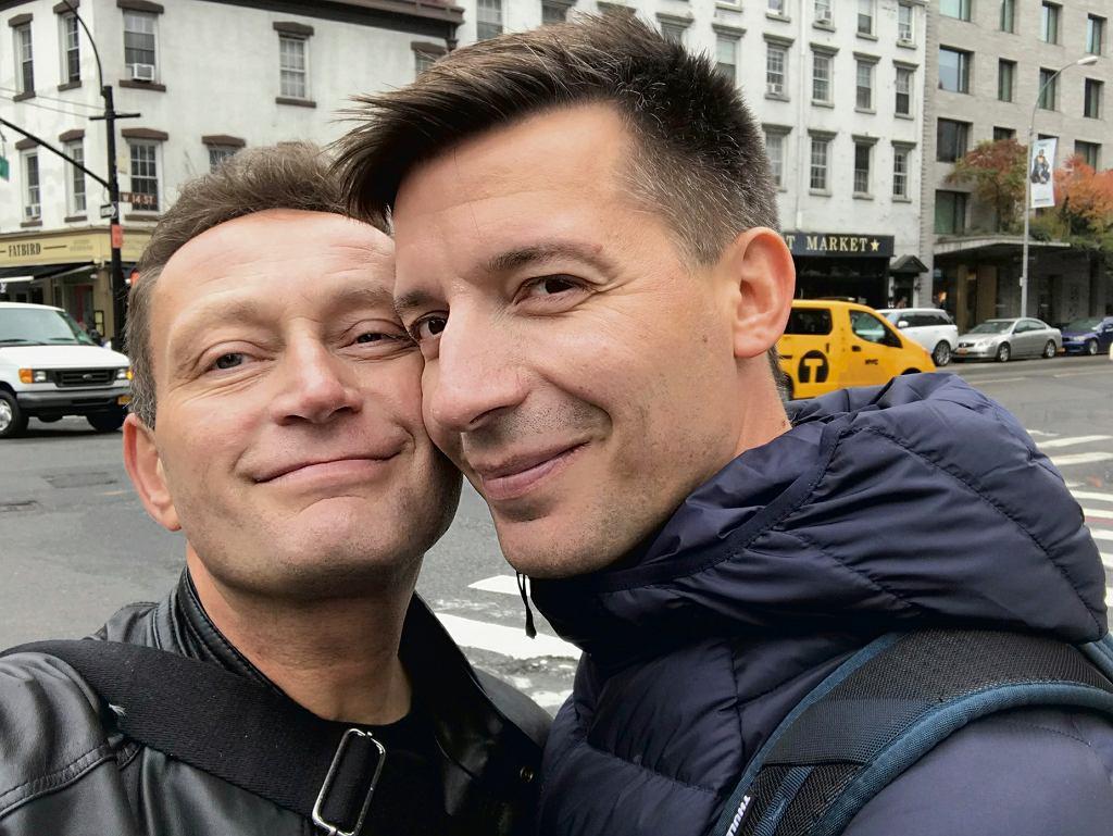 Paweł Rabiej i Michał Cessanis