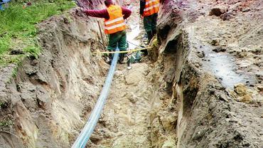 Budowa sieci wodociągowej i kanalizacji sanitarnej