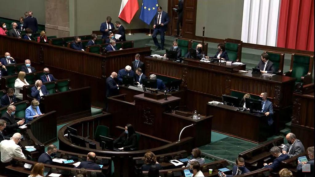 Posiedzenie Sejmu ws. Fundusu Odbudowy