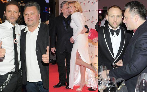 Radek Majdan, Ewa Wachowicz, Borys Szyc i Robert Sowa