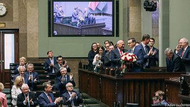 Głosowanie nad wotum zaufania dla Mateusza Morawieckiego