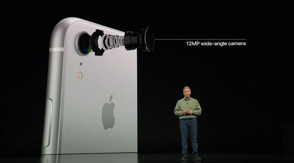 Aparat w iPhonie Xr