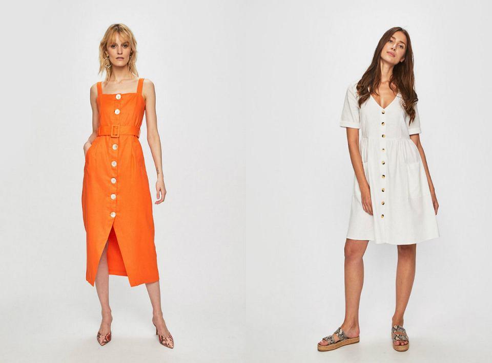 Sukienkę z guzikami możesz nosić w wersji eleganckiej i na luzie
