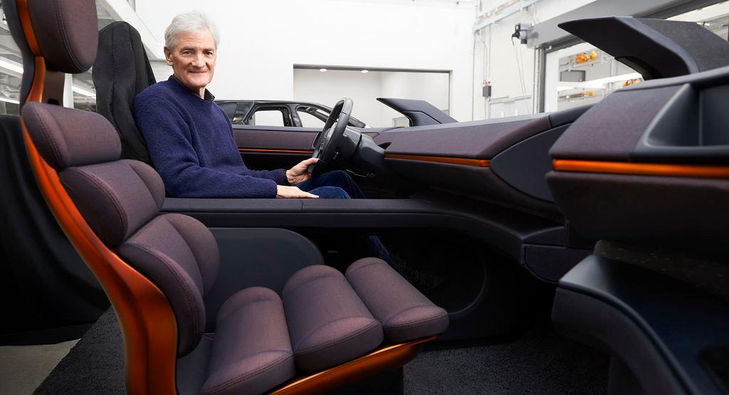 Elektryczny samochód Dyson