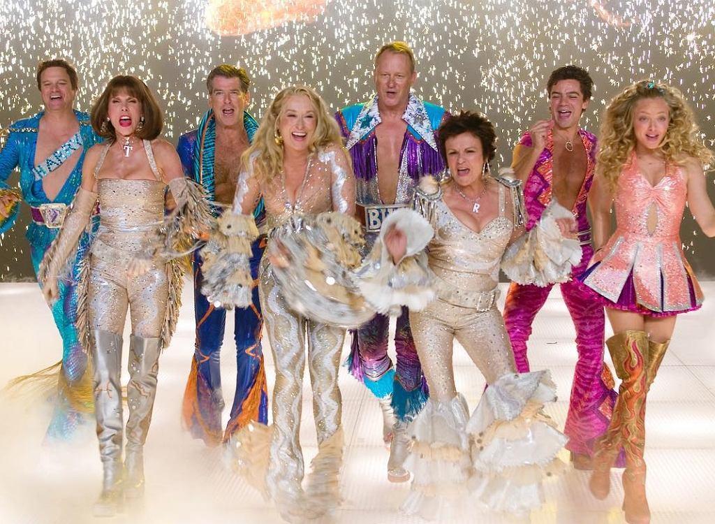 Aktorzy z filmu 'Mamma Mia!'