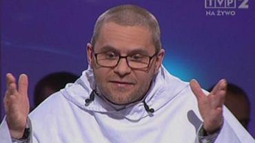 """Dominikanin o. Paweł Gurzyński w studiu TVP"""""""