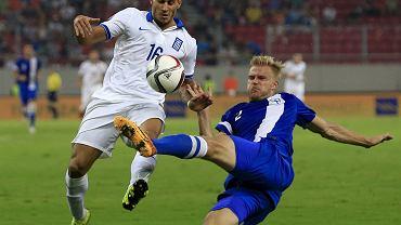 Grecja - Finlandia 0:1. Paulus Arajuuri