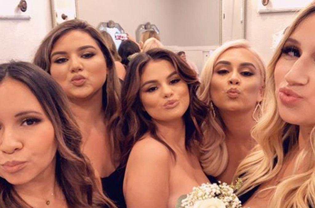 Selena Gomez na ślubie kuzynki