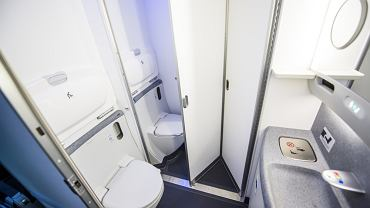 Toaleta w samolocie