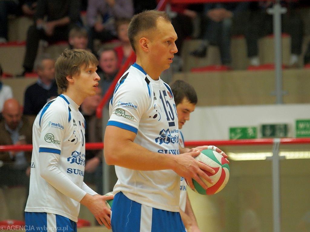 Ślepsk Suwałki - KPS Siedlce. Wojciech Winnik