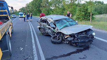 Wypadek w województwie dolnośląskim