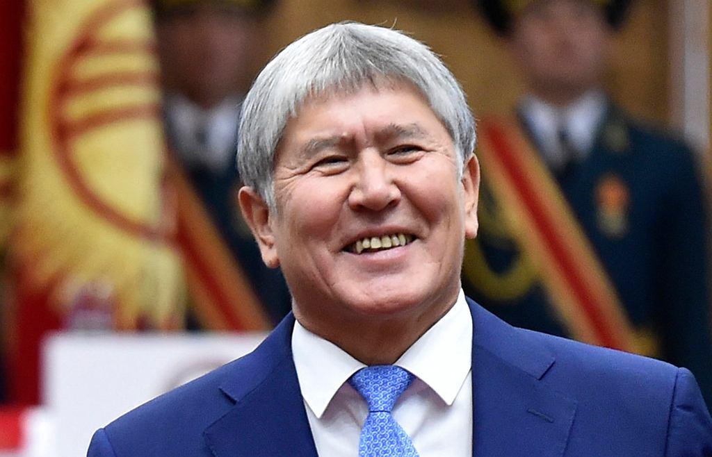 Były prezydent Kirgistanu Ałmazbek Atambayew