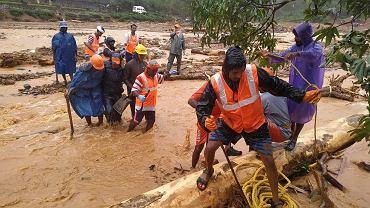Powódź w indyjskim stanie Kerala.