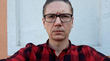 Autor tekstu, Paweł Lęcki, fotograf i felietonista
