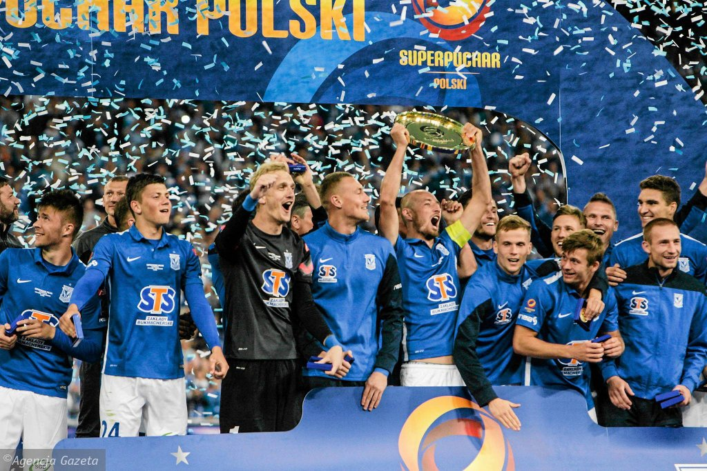 Lech Poznań - Legia Warszawa 3:1 w meczu o Superpuchar Polski