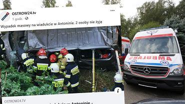 Tragiczny wypadek w Wielkopolsce