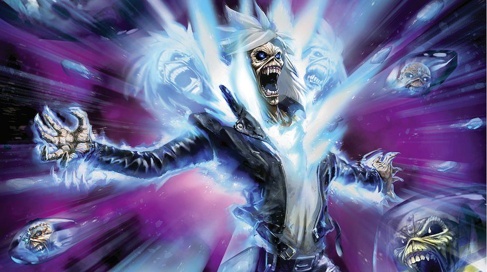 'Iron Maiden: Legacy of the Beast' cover