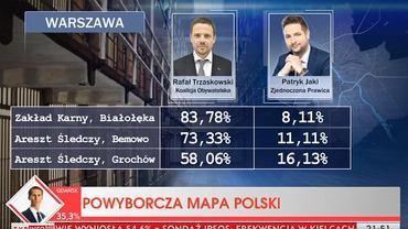 Wieczór wyborczy po II turze wyborów w TVP Info