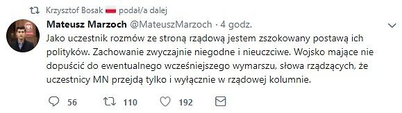 Wpis Mateusza Marzocha