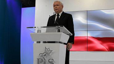 Jarosław Kaczyński na posiedzeniu Rady Politycznej PiS