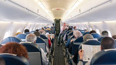 Polacy awanturowali się na pokładzie samolotu z Danii / zdjęcie ilustracyjne