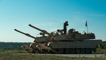 Czołgi M1A2 SEPv3 Abrams na poligonie w USA