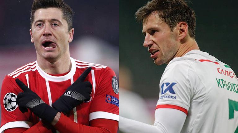 Robert Lewandowski i Grzegorz Krychowiak