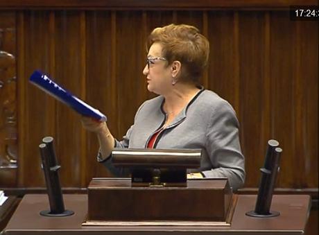 Mirosława Nykiel (iTV Sejm)