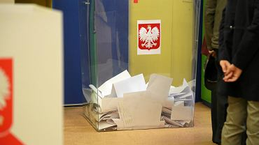 Wybory parlamentarne 2019. Białystok, Obwodowa Komisja Wyborcza nr 87 przy ul . Gdańskiej