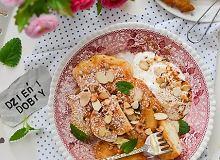Placuszki z jabłkami i ricottą - ugotuj