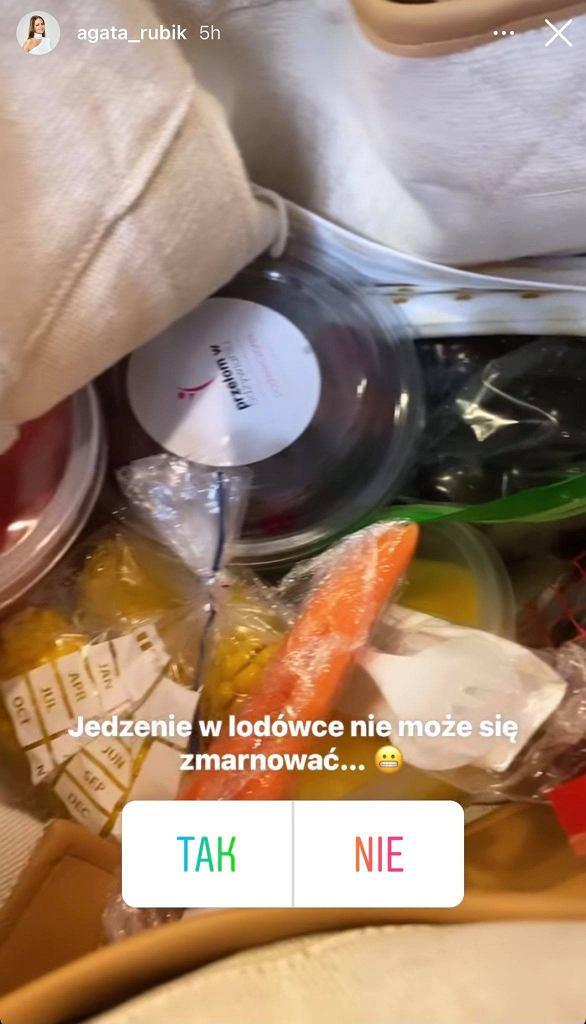 Agata Rubik nie marnuje jedzenia
