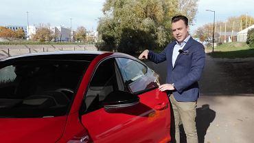 Tomasz Korniejew z nowym Audi A7
